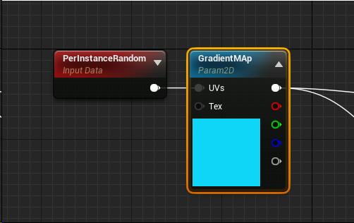 UE4] 1つのマテリアルで色のバリエーションを増やしたい!|株式