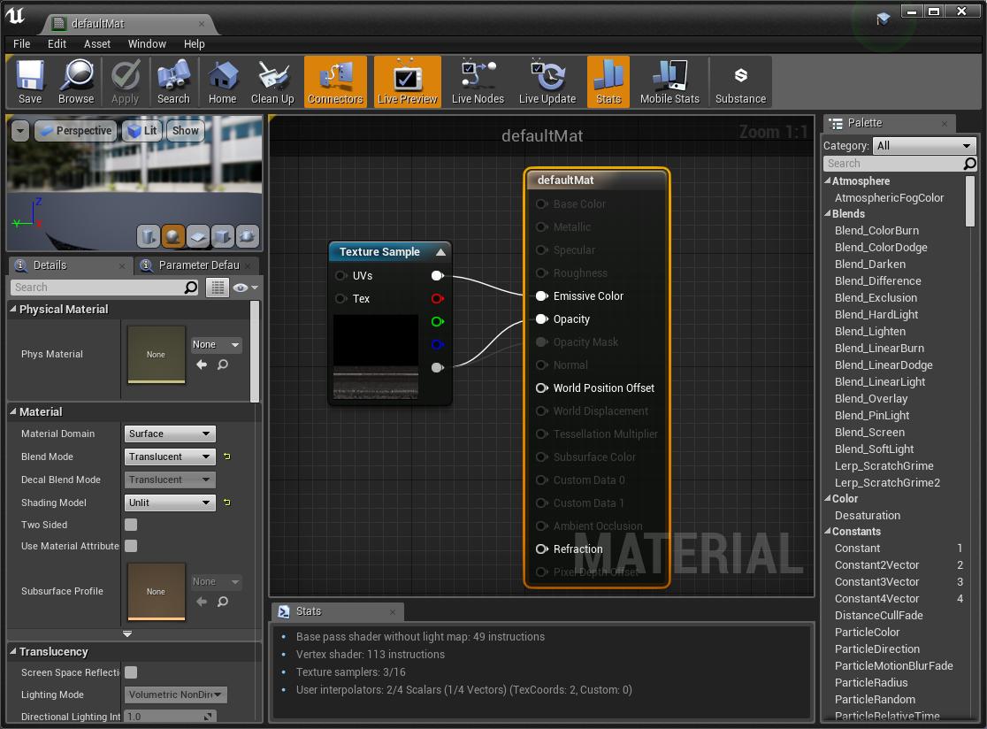 UE4] Seuratで3Dシーンを単純化する 株式会社ヒストリア